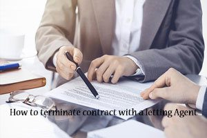 how to terminate contract with letting agent 2020